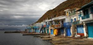 Fisherman Village in Milos