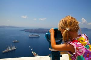 Breathtaking view from Oia