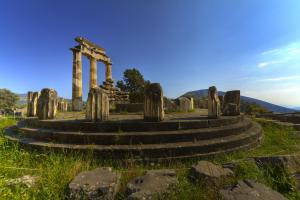 Temple of Pronaia - Delphi